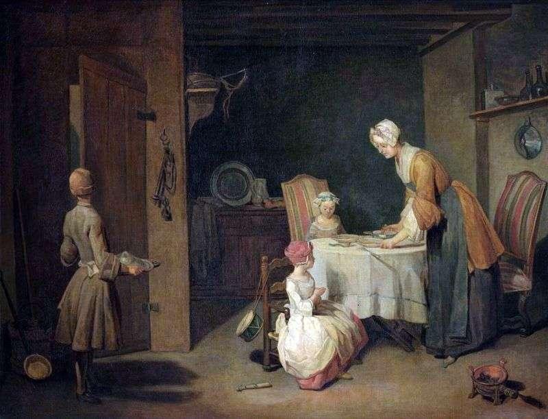 Молитва перед обідом   Жан Батист Симеон Шарден
