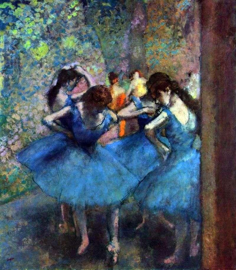 Танцівниці на репетиції   Едгар Дега