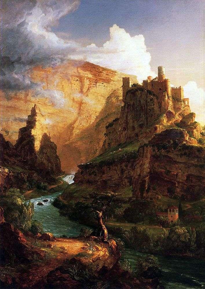 Замок на горі   Томас Коул