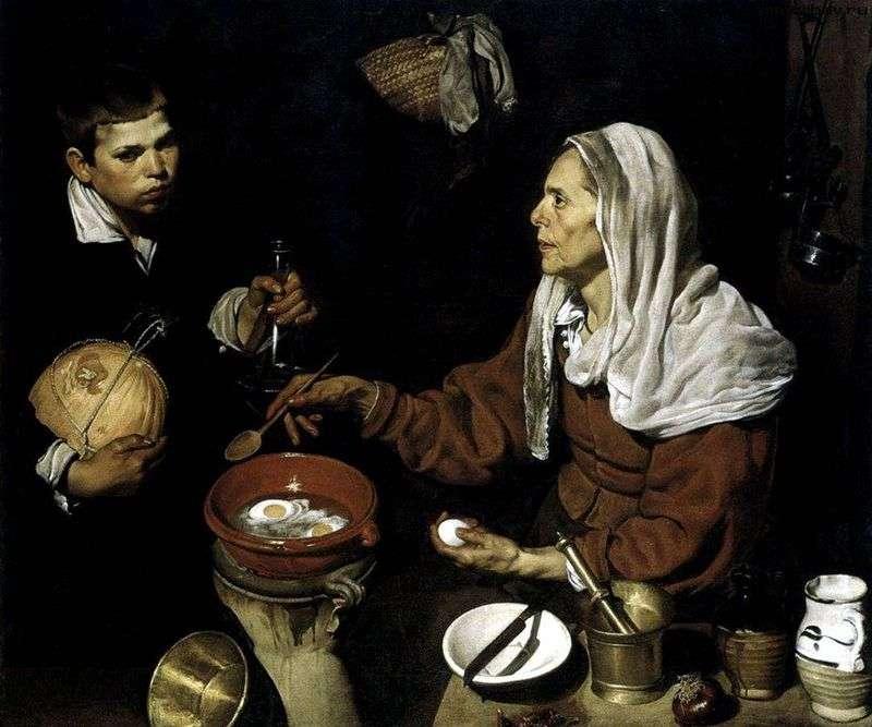 Стара куховарка   Дієго Веласкес