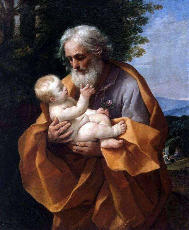 Йосип і немовля Ісус   Гвідо Рені