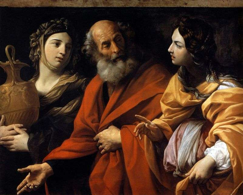 Лот і його дочки   Гвідо Рені