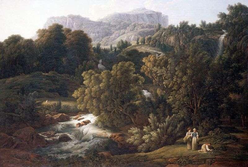 Гірський пейзаж   Йозеф Антон Кох