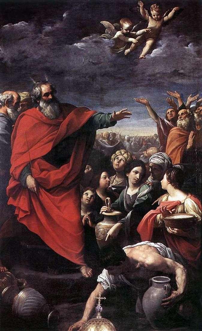 Мойсей і збирання манни небесної   Гвідо Рені