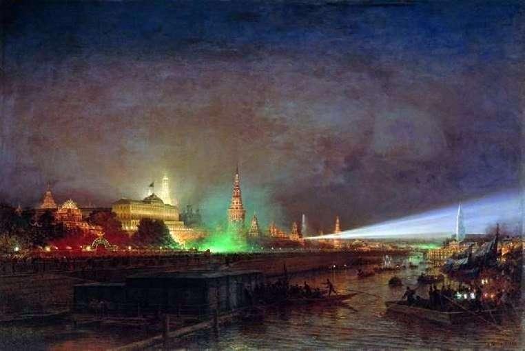 Ілюмінація Кремля   Олексій Боголюбов