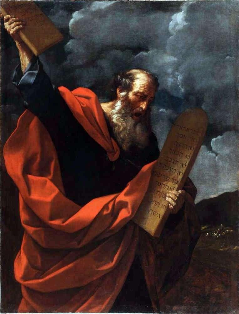 Мойсей зі скрижалями Закону   Гвідо Рені