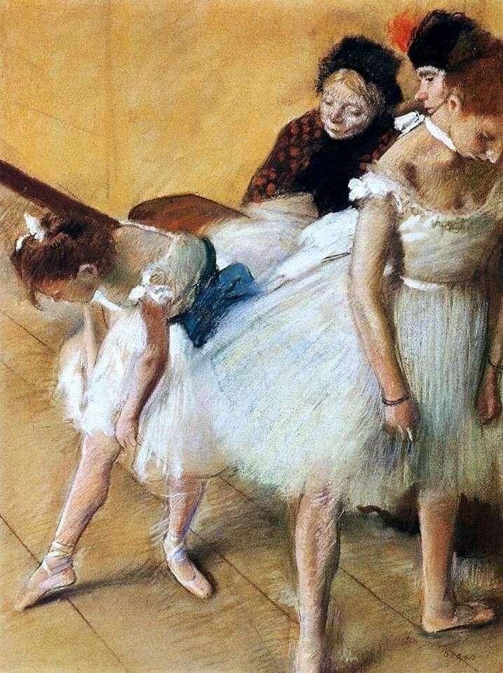 Іспит з танців   Едгар Дега