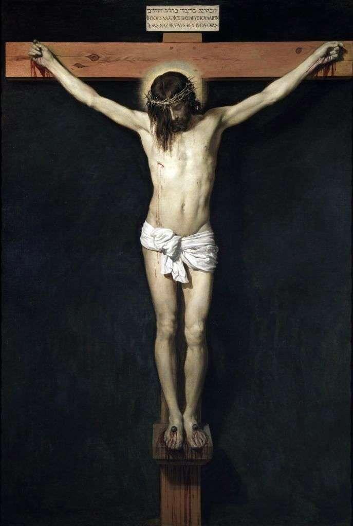 Христос на хресті   Дієго Веласкес