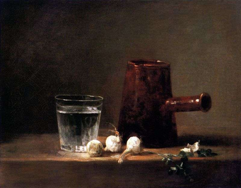 Склянку з водою і глечик   Жан Батист Симеон Шарден