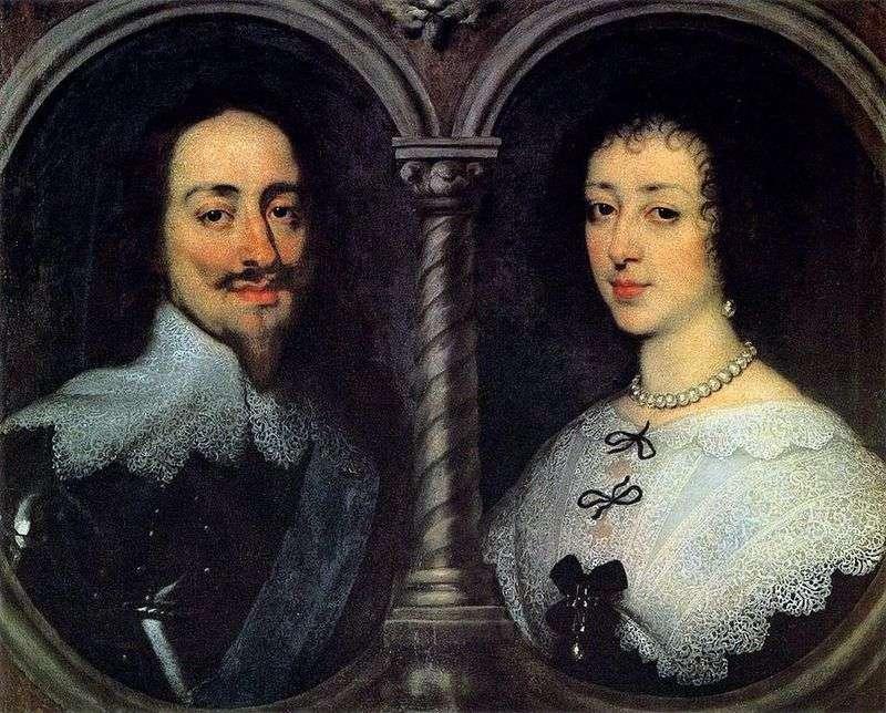 Портрет Карла I і Генрієти Марії   Ентоні Ван Дейк