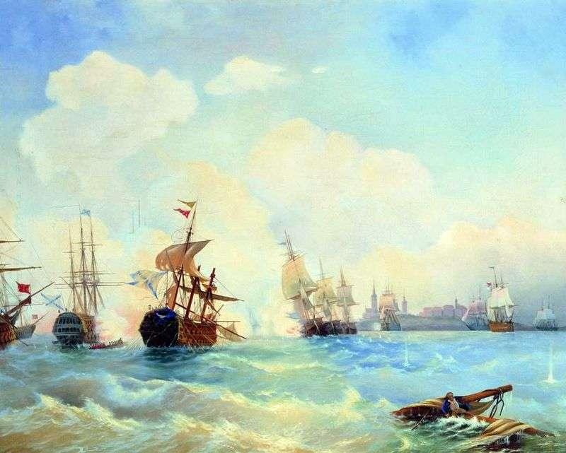 Ревельський бій 2 травня 1790 го   Олексій Боголюбов