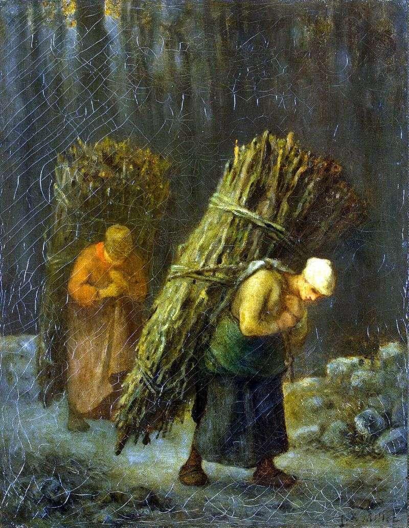 Селянки з хмизом   Жан Франсуа Мілле