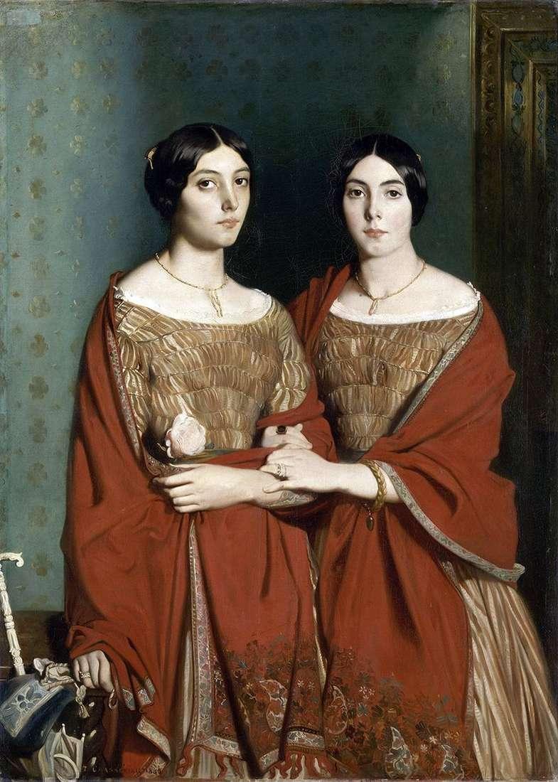 Дві сестри   Теодор Шассерио