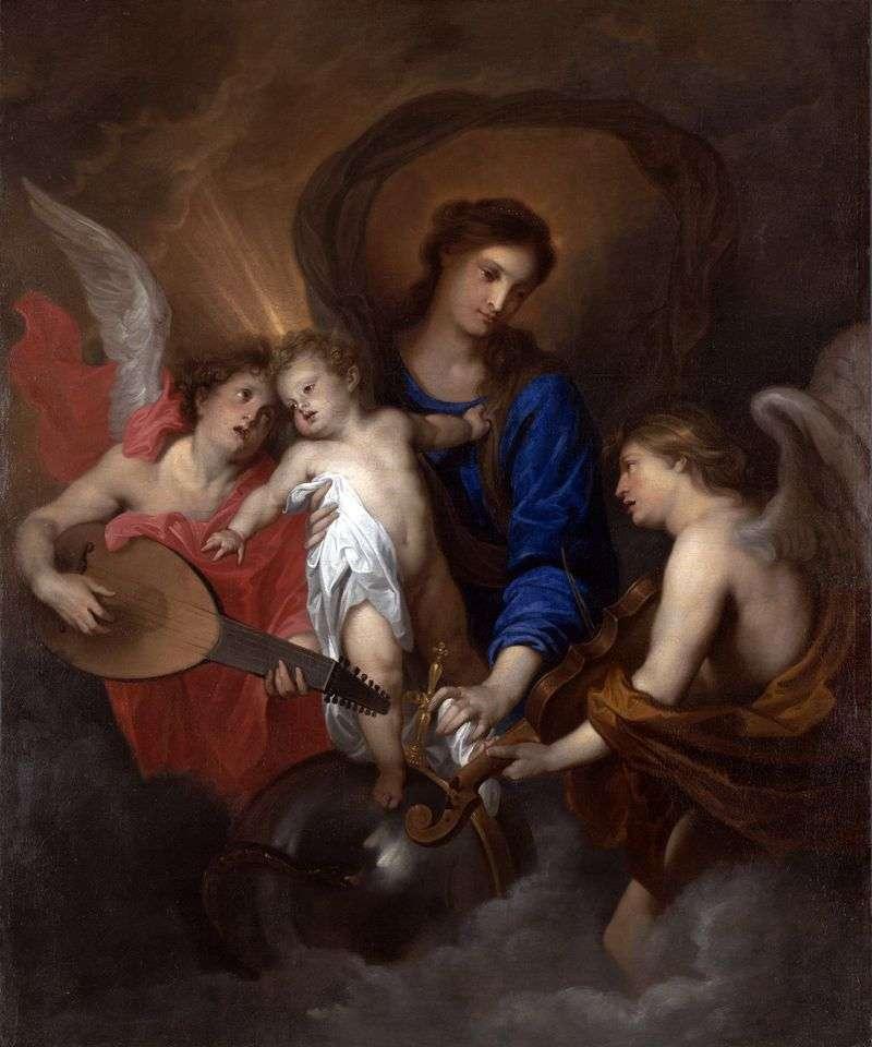 Мадонна з Немовлям і ангелами   Ентоні Ван Дейк