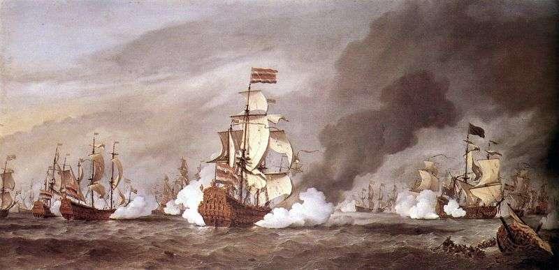 Битва при Текселе   Віллем ван де Велде