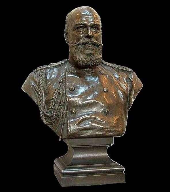 Бюст імператора Олександра III   Олександр Бок