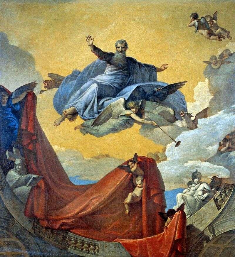 Бачення пророка Єзекіїля   В. К. Шебуев