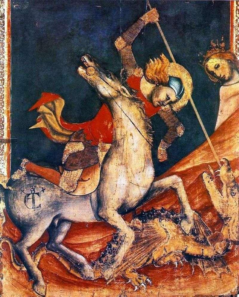 Битва св. Георгія з драконом. Ок   Вітале та Болонья