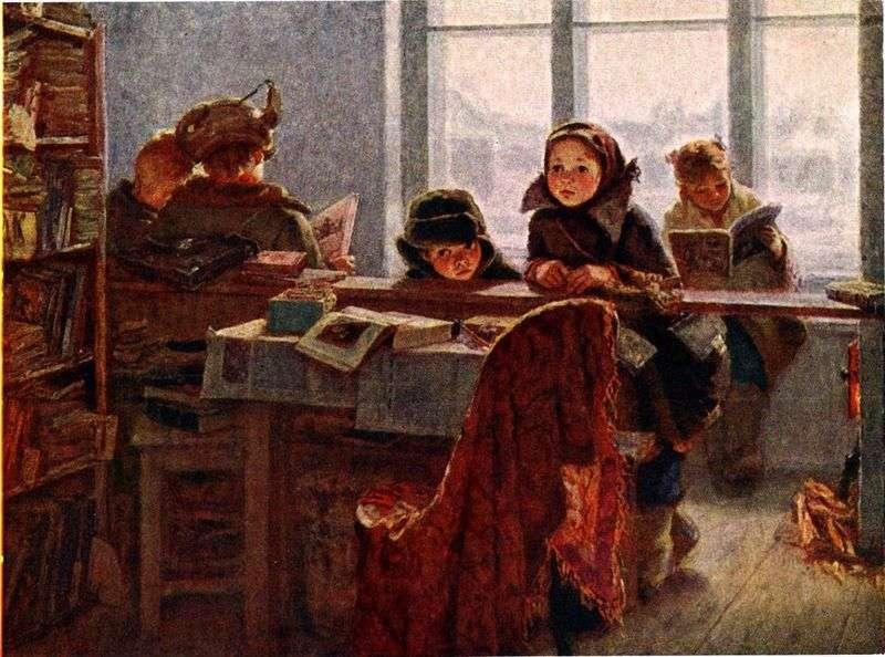 В сільській бібліотеці   Ірина Шевандронова