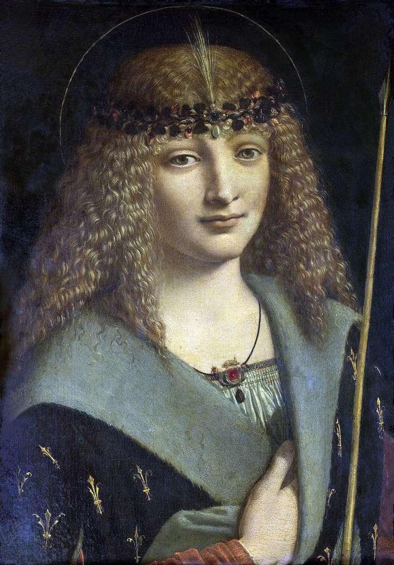 Портрет юнака в образі святого Себастьяна   Антоніо Больтраффио