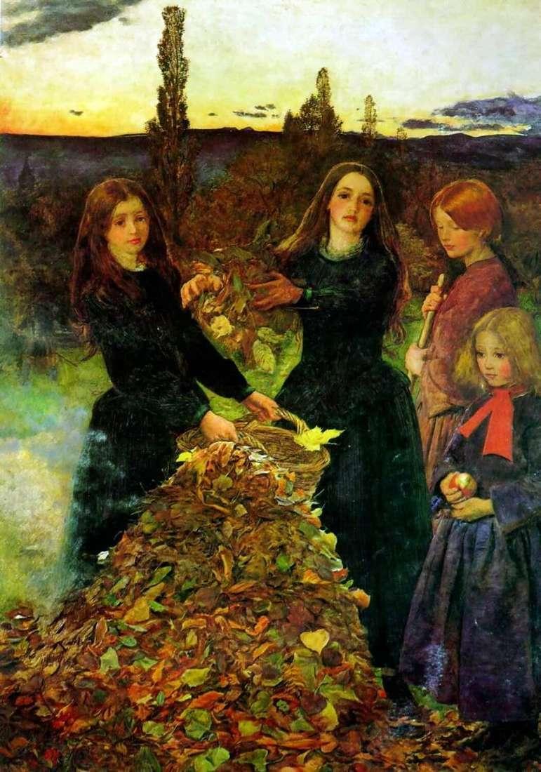Осіннє листя   Джон Еверетт Миллес