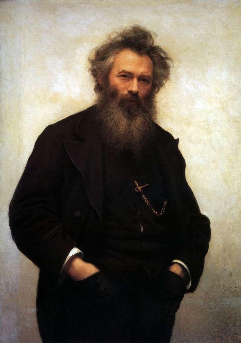Портрет В. І. Шишкіна   Іван Крамськой