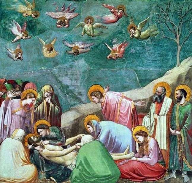Оплакування Христа Джотто ді Бондоне