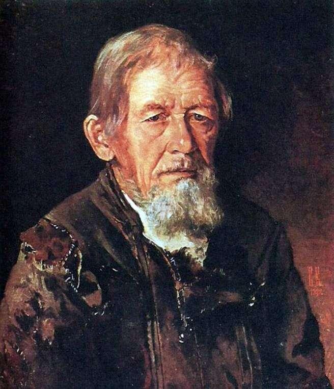 Портрет оповідача билин   Іван Крамськой