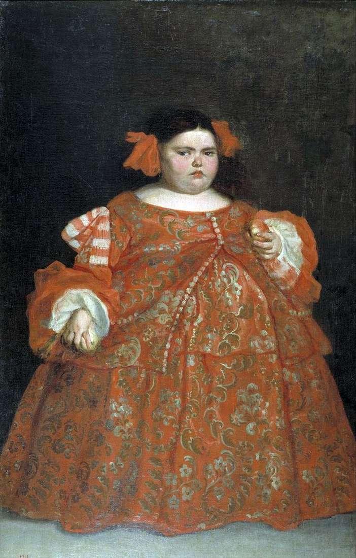 Портрет Євгенії Мартінес Вальєхо (ла Монстра)   Хуан Карреньо де Міранда