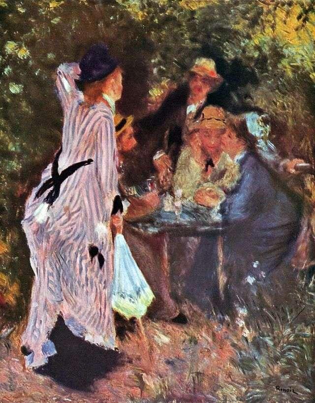 В саду (Під деревами в Мулена де ла Галетт)   Пєр Огюст Ренуар