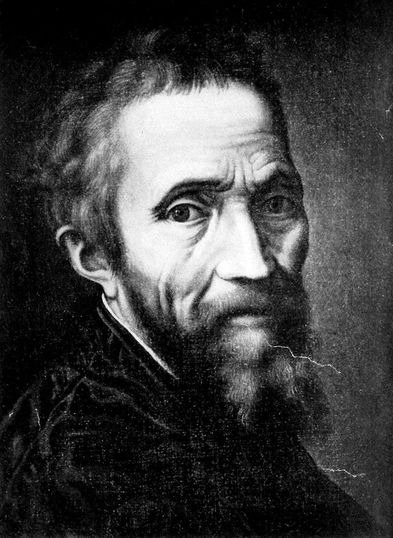 Портрет Мікеланджело Буонарроті   Марчелло Венусти