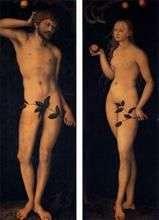 Адам і Єва   Лукас Кранах