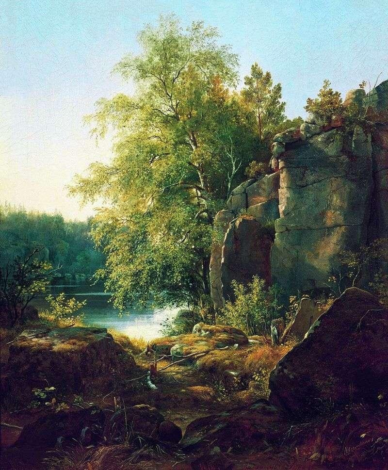 Вид на острові Валаамі   Іван Шишкін