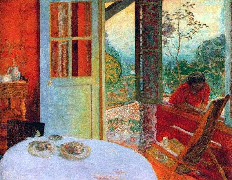 Їдальня в заміському будинку   Пєр Боннар