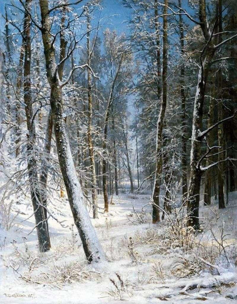 Зима в лісі (Іній)   Іван Шишкін