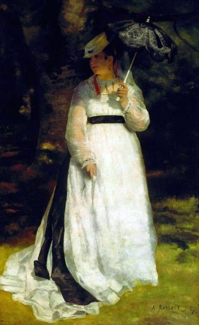 Ліза з парасолькою   Пєр Огюст Ренуар