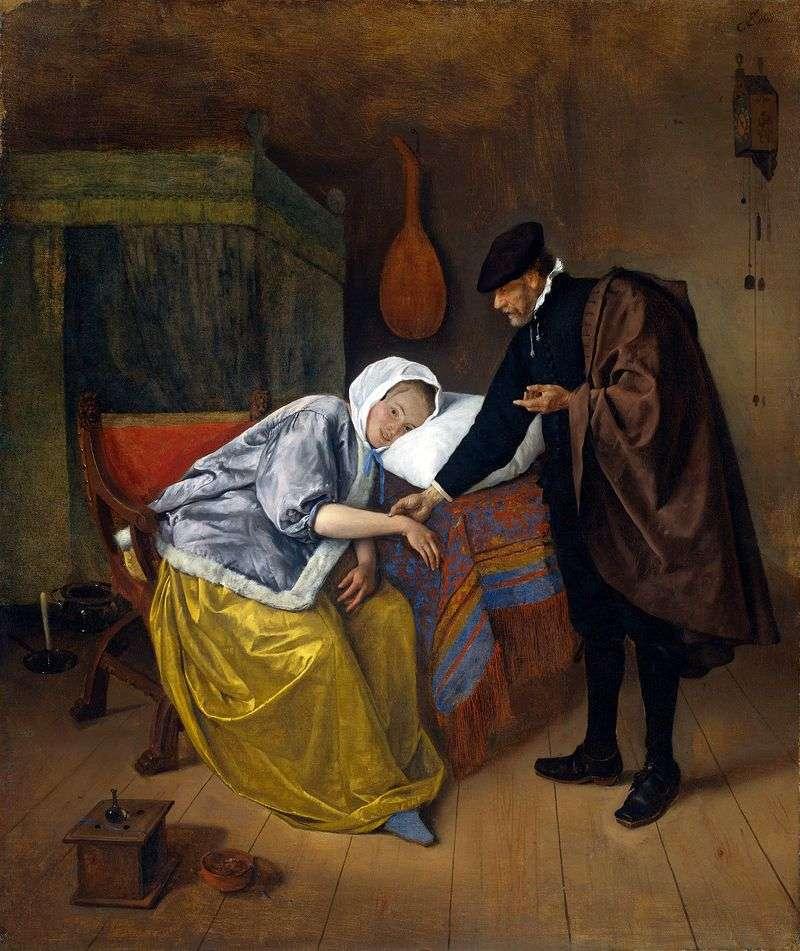 Доктор і пацієнтка   Ян Стін