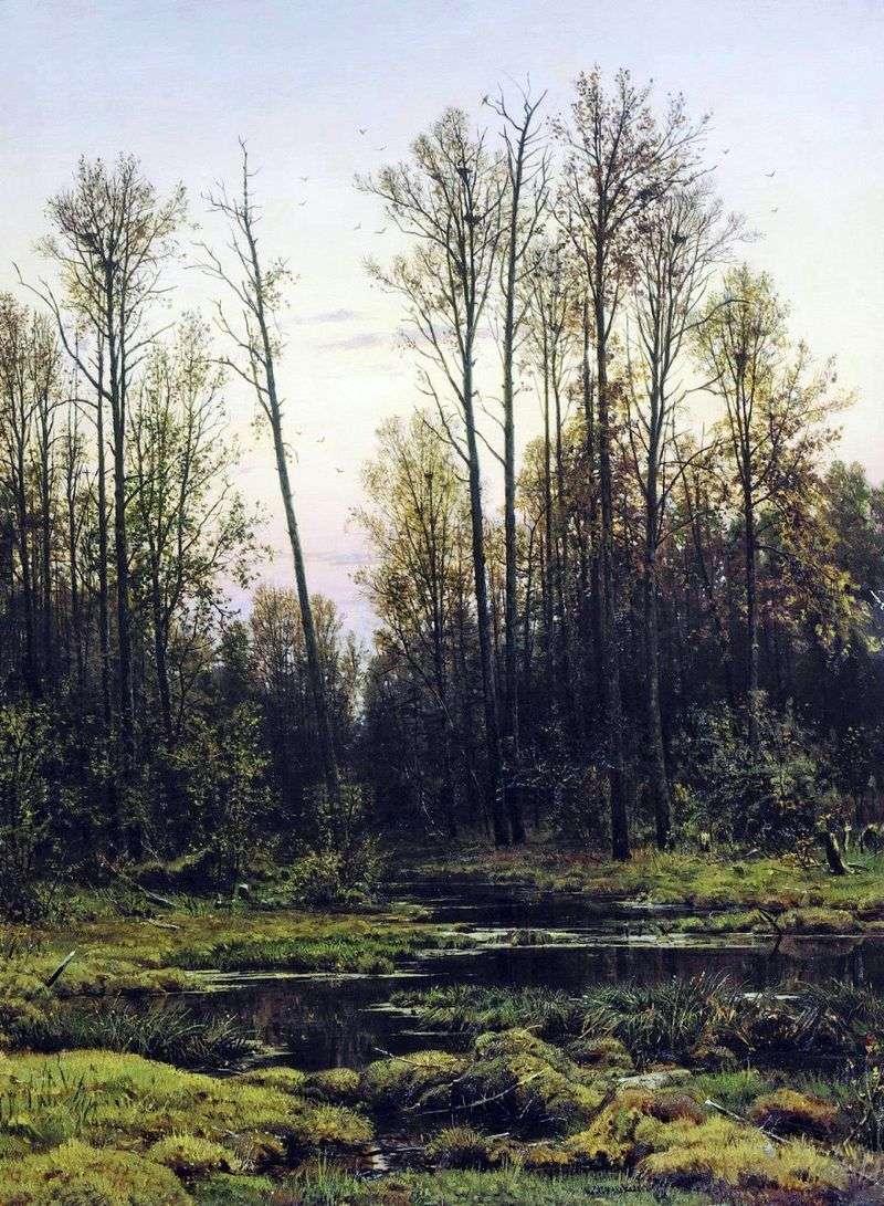 Ліс весною   Іван Шишкін