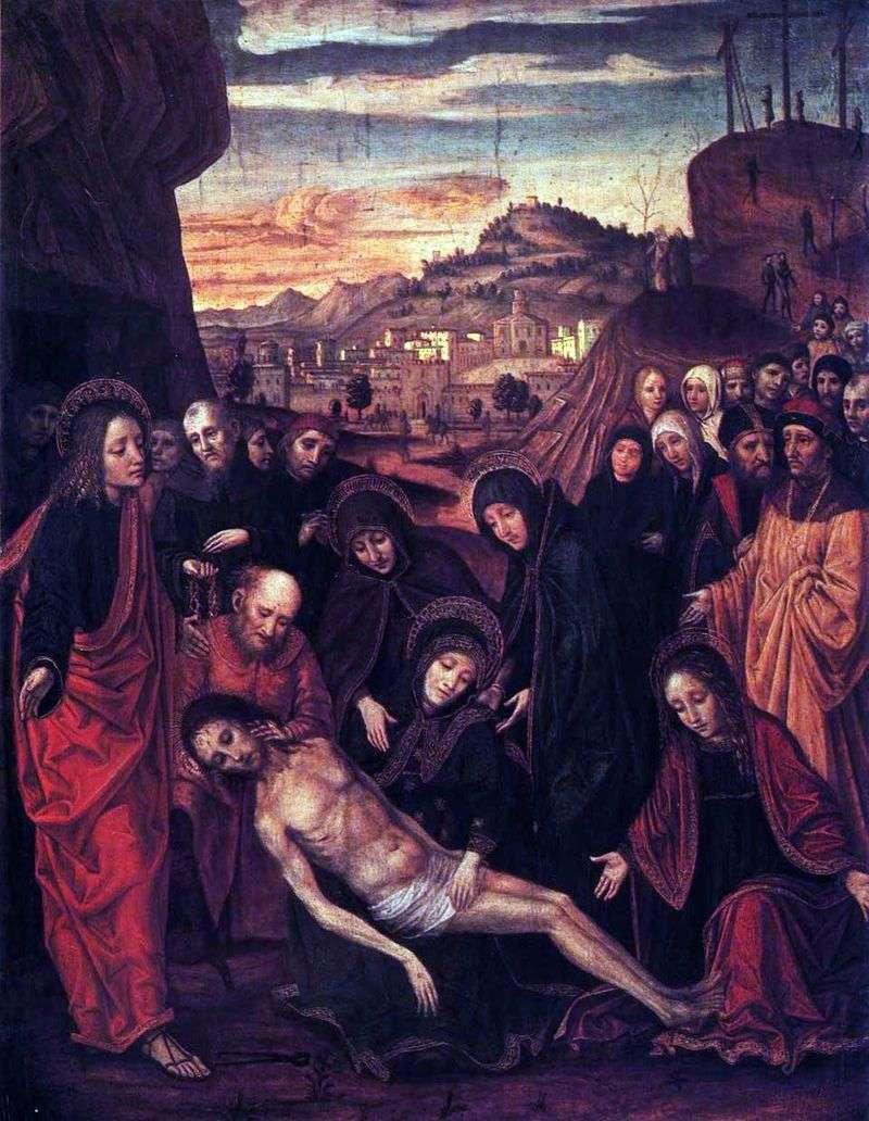 Оплакування Христа   Амброджо Боргоньоне