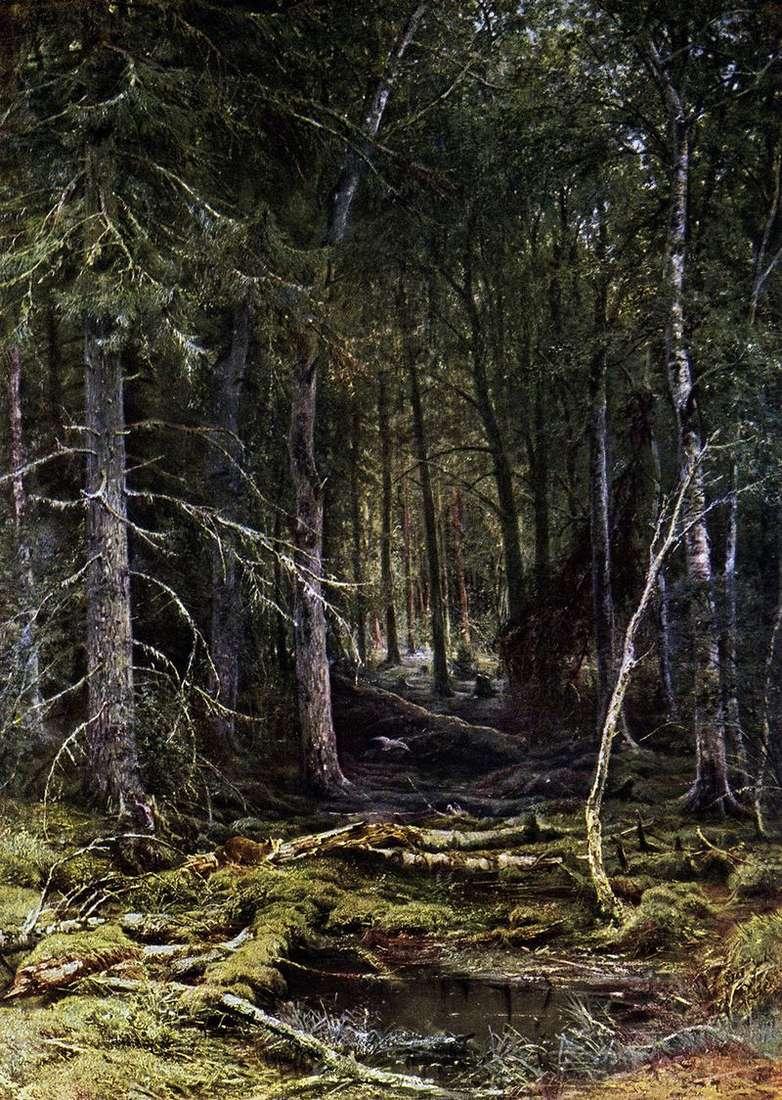 Лісова глушина   Іван Шишкін