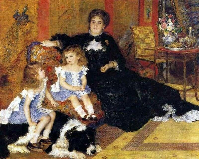 Мадам Шарпантьє з дітьми   Пєр Огюст Ренуар