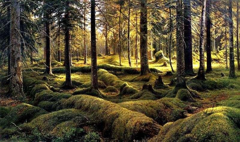 Лісове кладовище   Іван Шишкін