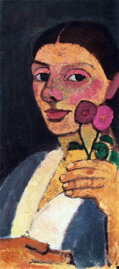 Автопортрет з двома кольорами   Паула Модерзон Беккер