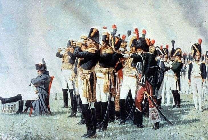 Наполеон на Бородинских висотах   Василь Верещагін