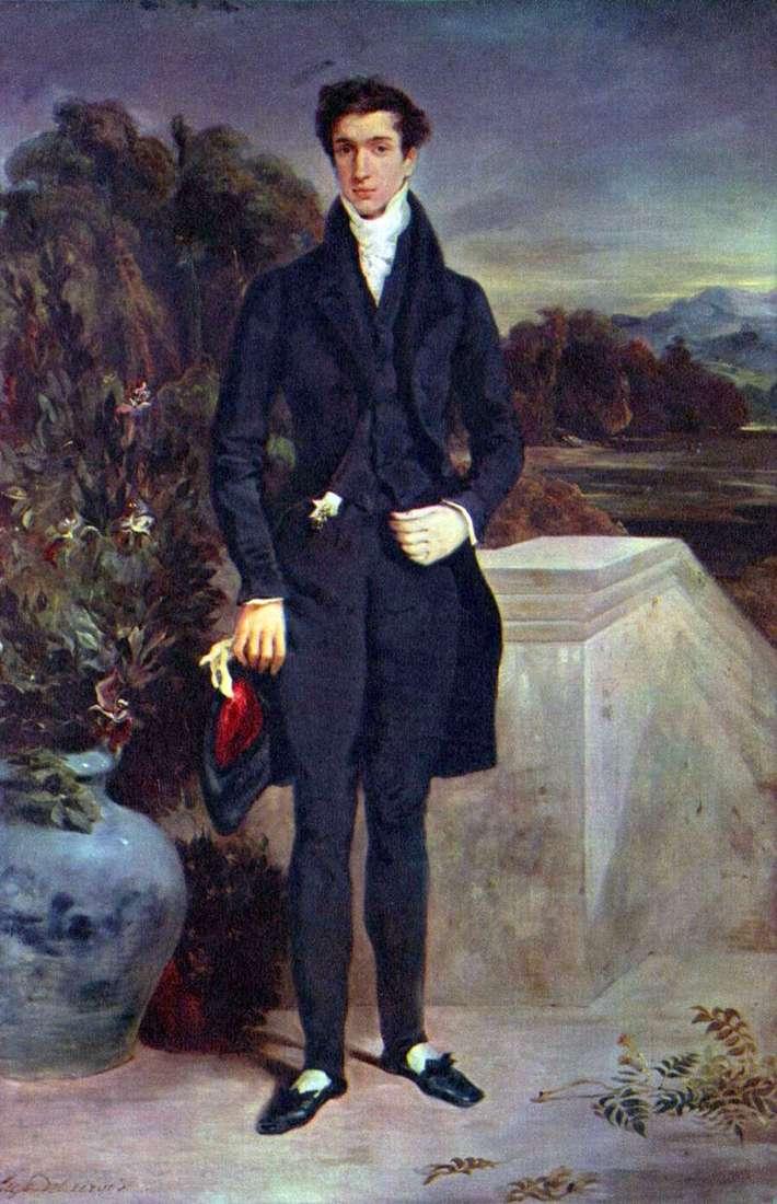 Портрет барона Швитера   Ежен Делакруа