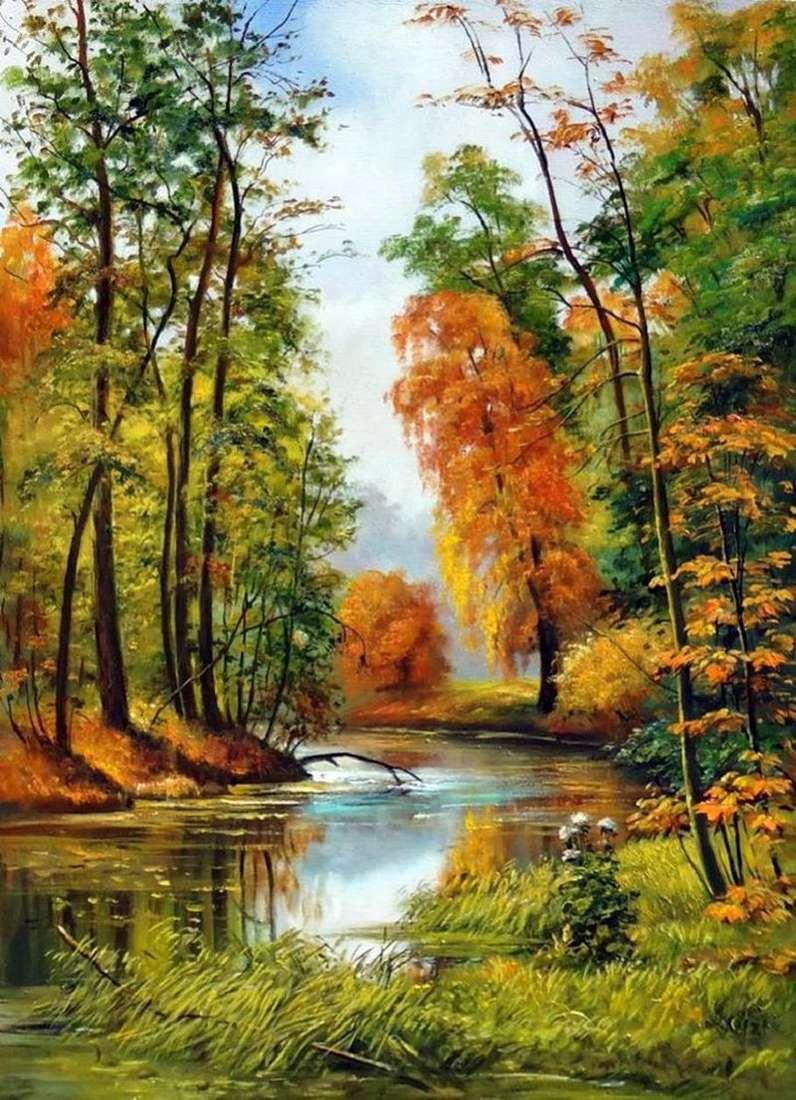Осінній пейзаж   Іван Шишкін
