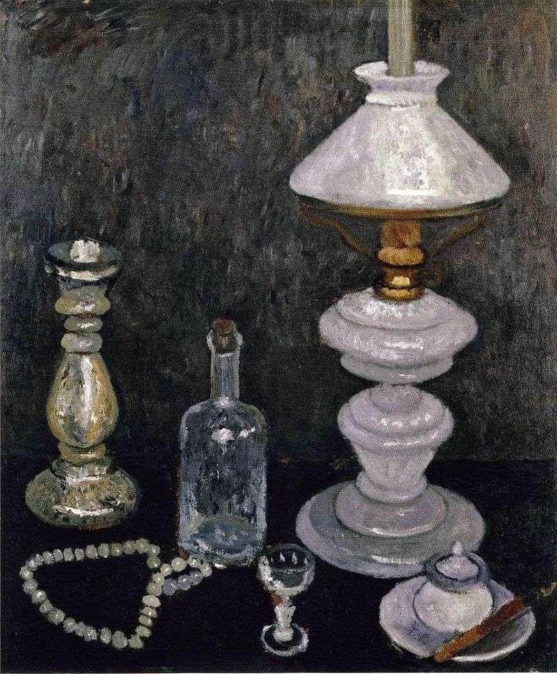 Натюрморт з білої лампою   Паула Модерзон Беккер