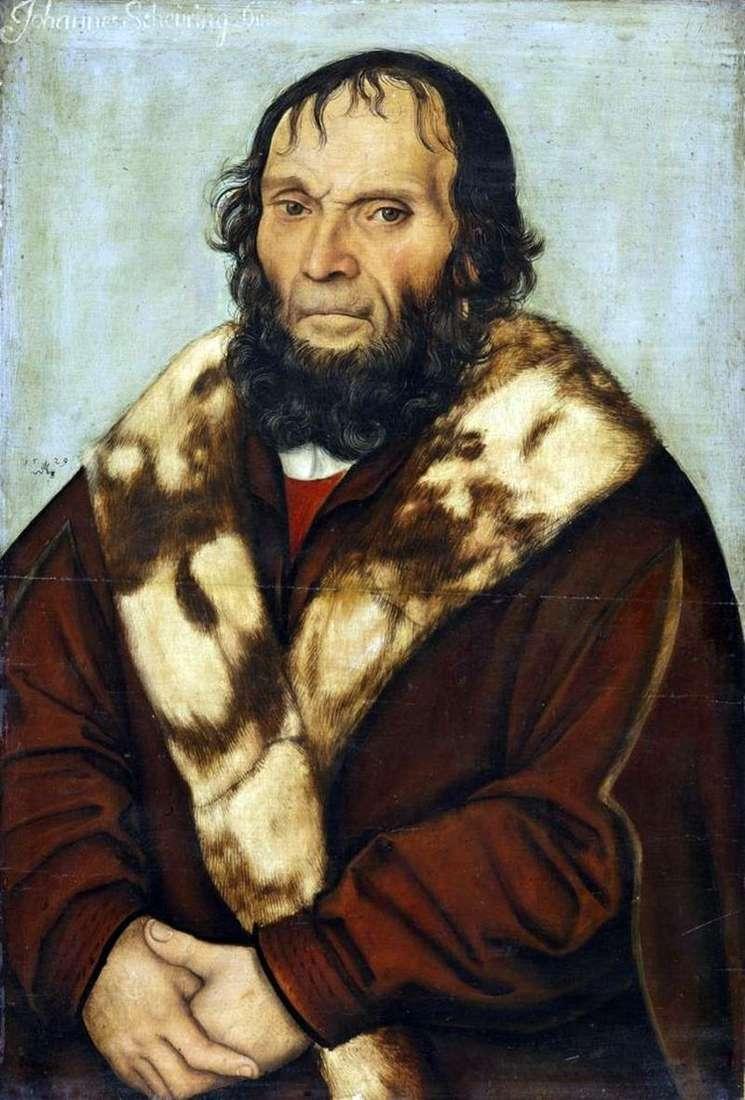 Портрет доктора Йоганна Ширинга   Лукас Кранах