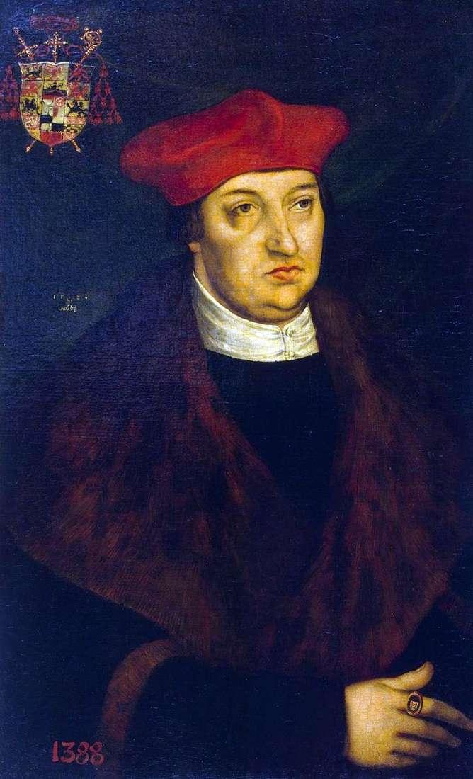 Портрет кардинала Альбрехта Бранденбурзького   Лукас Кранах