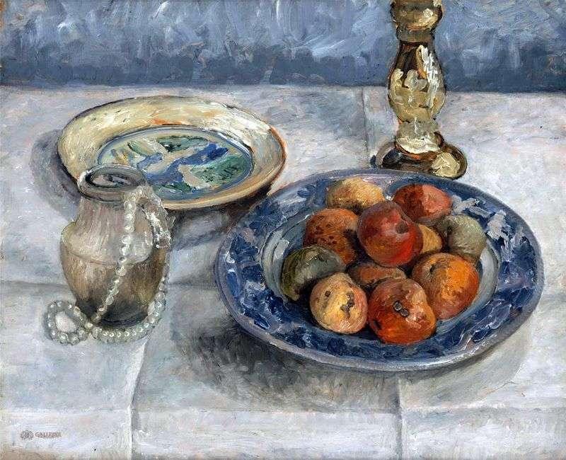 Натюрморт з яблуками   Паула Модерзон Беккер